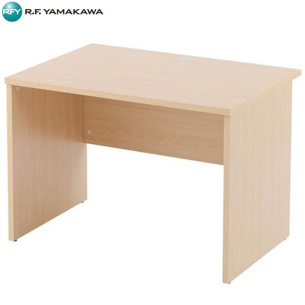 【法人限定】アール・エフ・ヤマカワ:レーニョ 木製デスクiii W1000xD700 ナチュラル RFLD-1070NJ3
