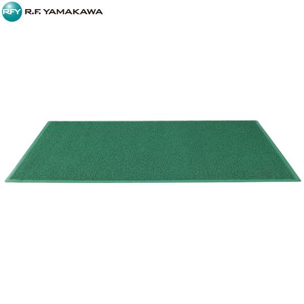【代引不可】アール・エフ・ヤマカワ:エントランスマット W1800xD900 グリーン RFEM-1890GN