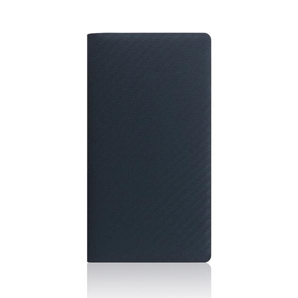 SLG Design(エスエルジーデザイン):iPhone X carbon leather case ネイビー