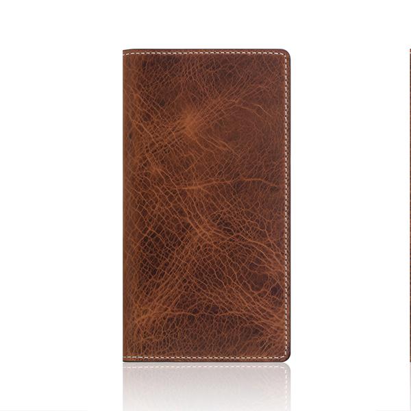 SLG Design(エスエルジーデザイン):iPhone X Badalassi Wax case ブラウン