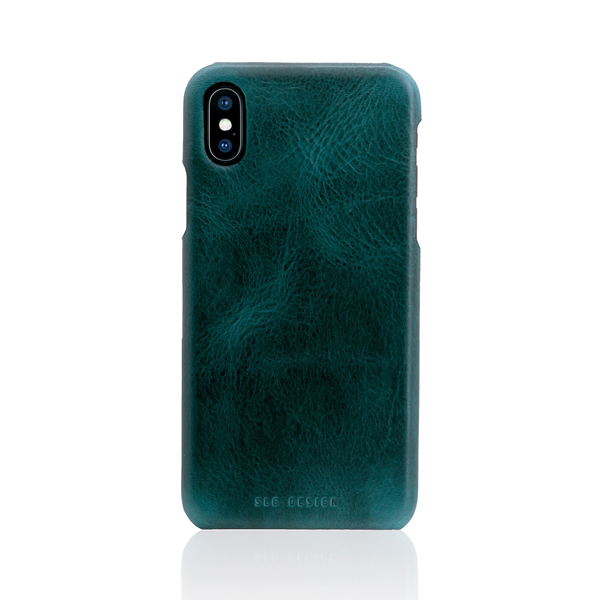 SLG Design(エスエルジーデザイン):iPhone X Badalassi Wax Bar case グリーン