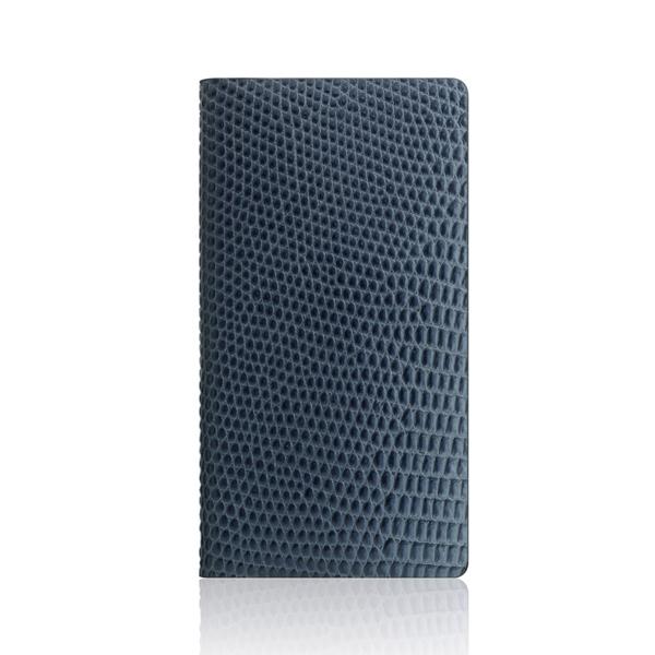 SLG Design(エスエルジーデザイン):iPhone X Lizard Case ブルー
