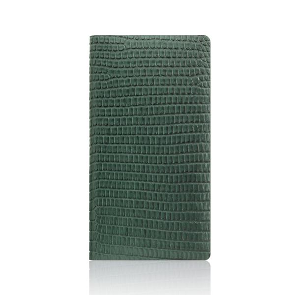 SLG Design(エスエルジーデザイン):iPhone X Lizard Case グリーン
