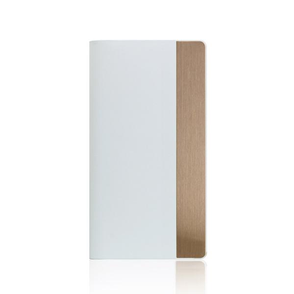 SLG Design(エスエルジーデザイン):iPhone X Calf Skin Metal Case ホワイト