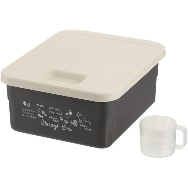 ついに再販開始 ペット フード 安値 保存 保管 容器 ストッカー ストック ダークグレー 4945680566285 リッチェル:キャットフードストレージボックス