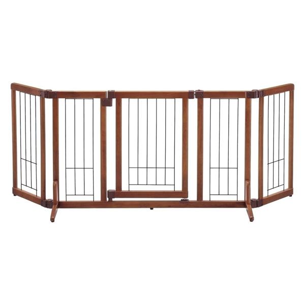 リッチェル:ペット用木製おくだけドア付ゲート M