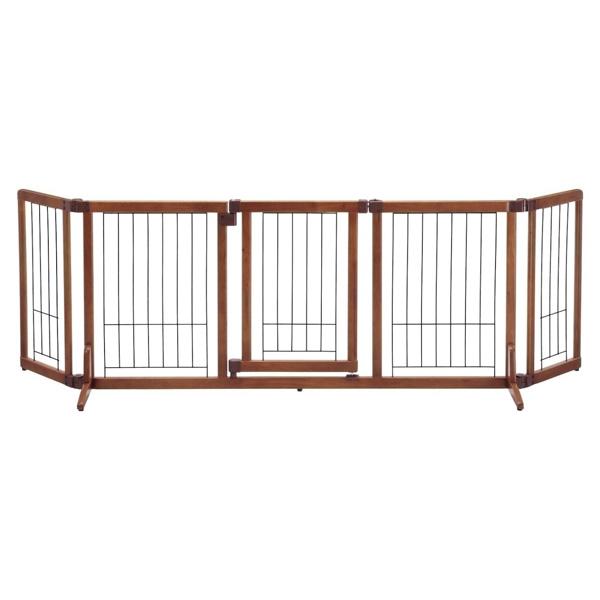 リッチェル:ペット用木製おくだけドア付ゲート L