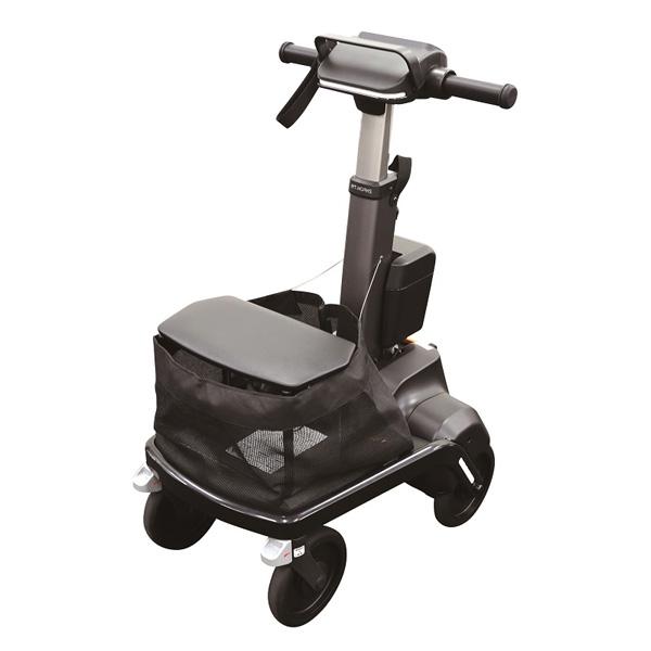 【代引不可】RT.ワークス:ロボットアシストウォーカーRT.1 おさんぽケア・スタンダード ブラック RT1-01BKN