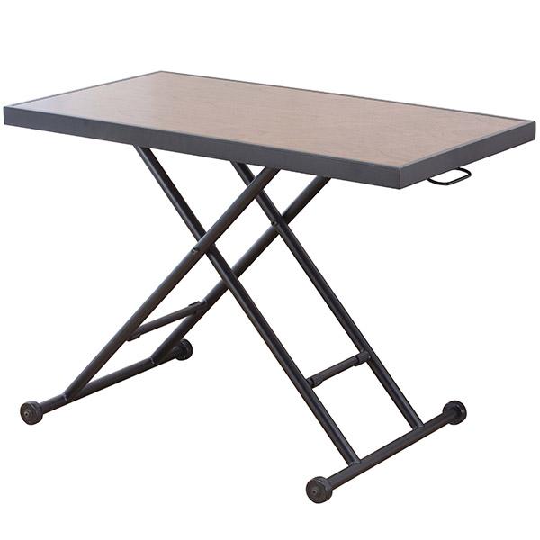 【代引不可】サンハーベスト:昇降式リビングテーブル HAK-20
