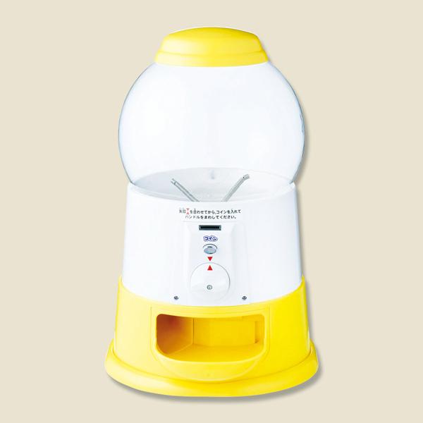 シモジマ:カプセル自販機 プチコロ 専用コイン仕様 レモン 1台 005993046