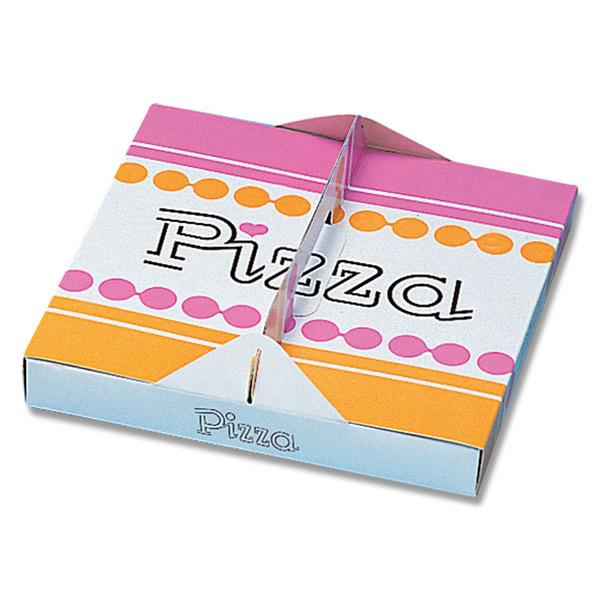 HEIKO(ヘイコー):ピザ箱 23cm 柄入り 100枚入り 004280200