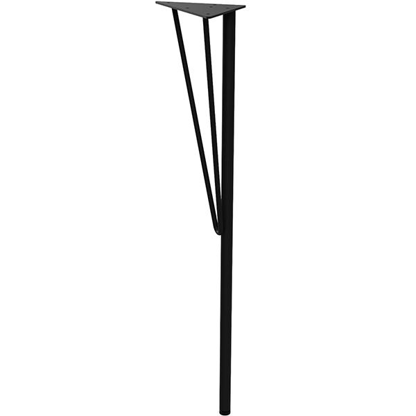 WTK-1 正規品 4977612360104 平安伸銅:スチール 黒 テーブル脚 品質検査済