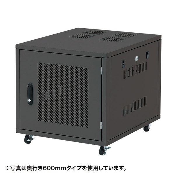 サンワサプライ:19インチサーバーボックス(9U) CP-SVNC2