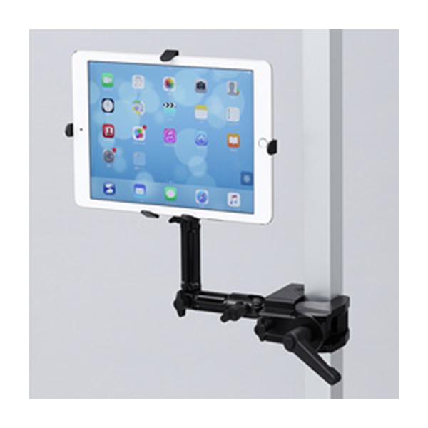 サンワサプライ:7~11インチ対応iPad・タブレット用支柱取付けアーム CR-LATAB22