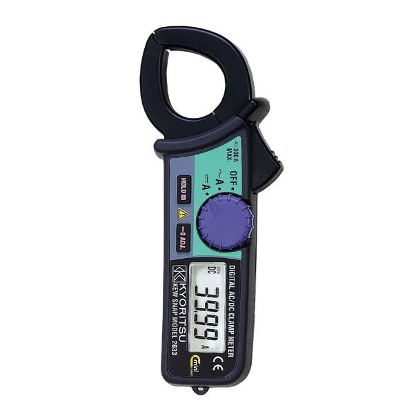 共立電気計器:交流電流・直流電流測定用クランプメータ MODEL2033