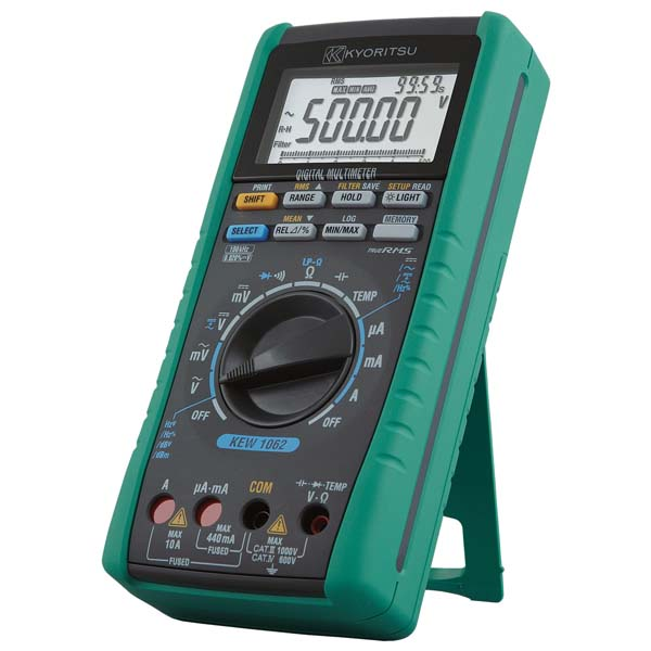 共立電気計器:デジタルマルチメータ KEW1062