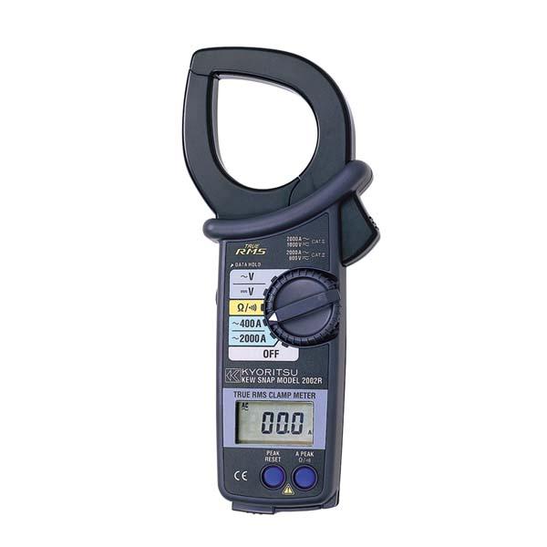 共立電気計器:交流電流測定用クランプメータ(RMS) MODEL2002R