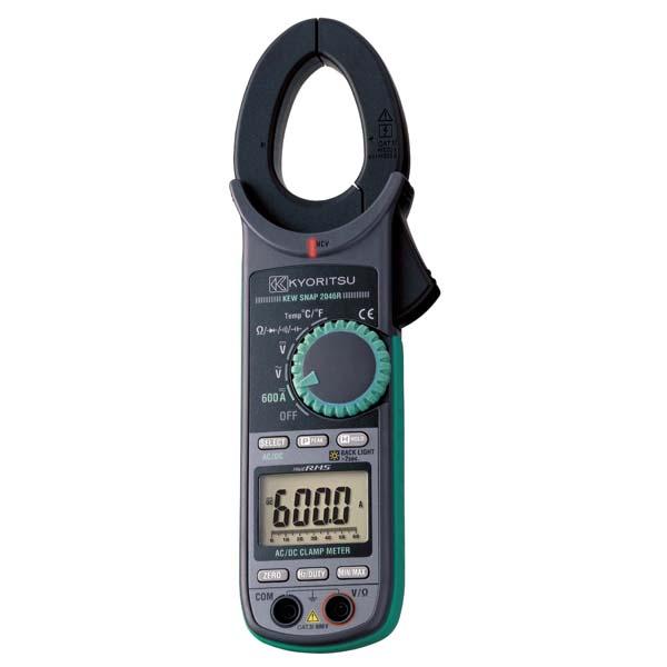 共立電気計器:交流電流・直流電流測定用クランプメータ(RMS) KEW2046R