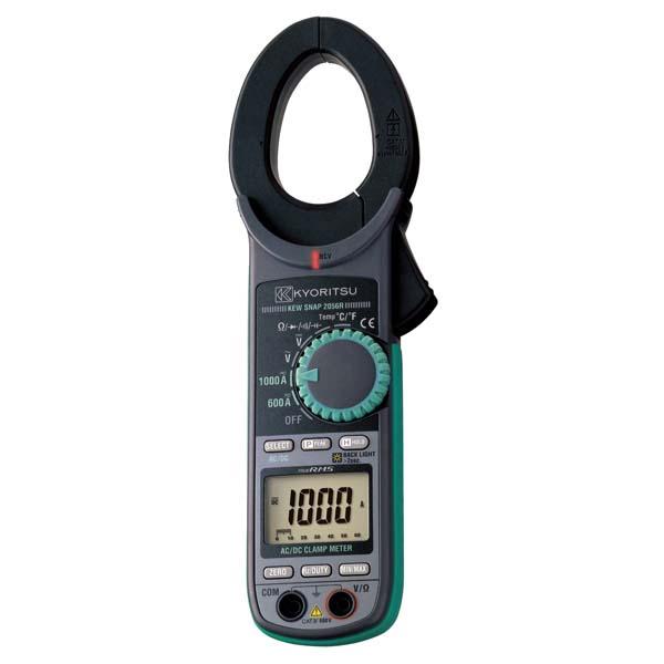 共立電気計器:交流電流・直流電流測定用クランプメータ(RMS) KEW2056R