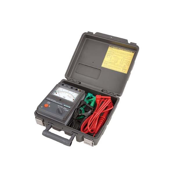 共立電気計器:アナログ絶縁抵抗計(高圧) KEW3123A