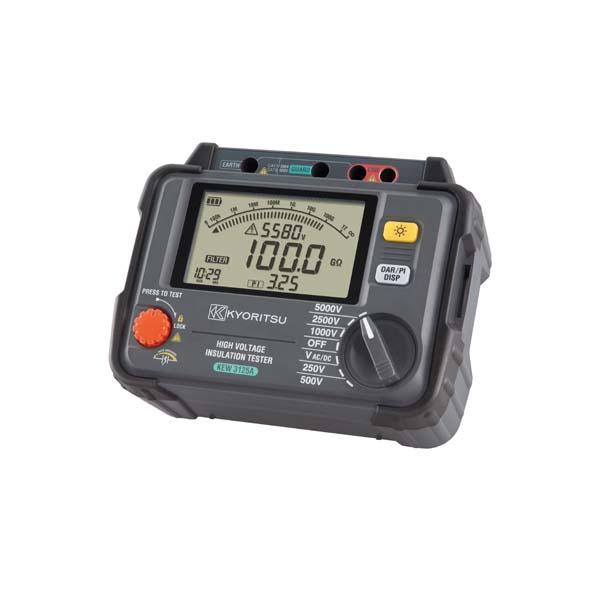 共立電気計器:デジタル絶縁抵抗計(高圧) KEW3125A