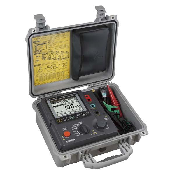 【代引不可】共立電気計器:デジタル絶縁抵抗計(高圧) KEW3128
