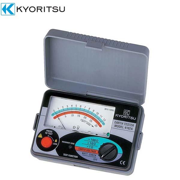 共立電気計器:アナログ接地抵抗計(ソフトケース付) MODEL4102A