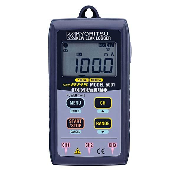 共立電気計器:漏れ電流用データロガー MODEL5001