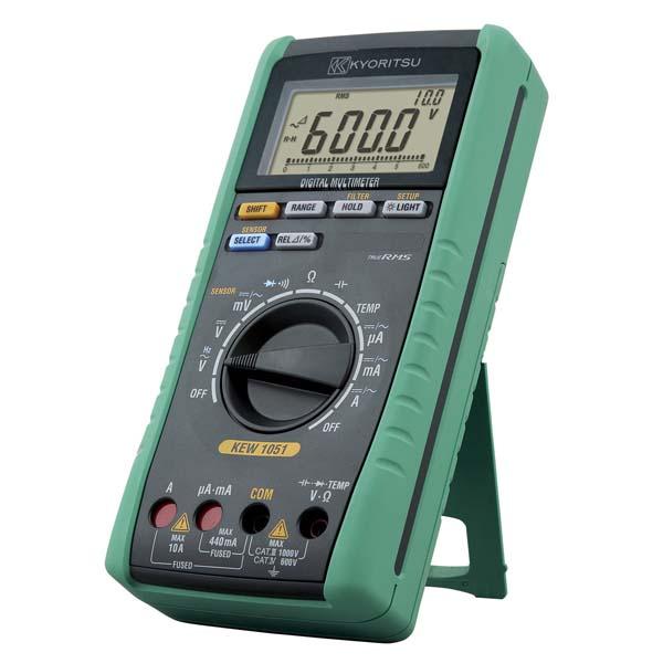 共立電気計器:デジタルマルチメータ KEW1051