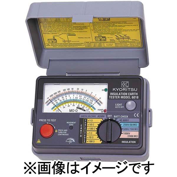 共立電気計器:アナログ絶縁・接地抵抗計 MODEL6017