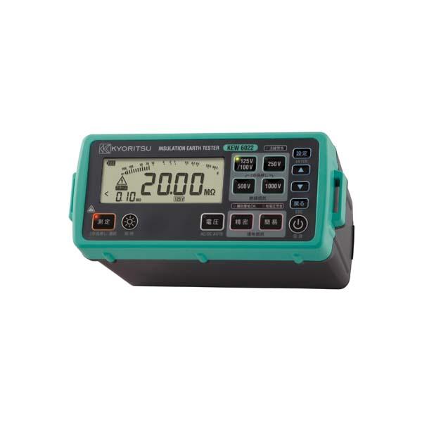 共立電気計器:デジタル絶縁・接地抵抗計 KEW6022L