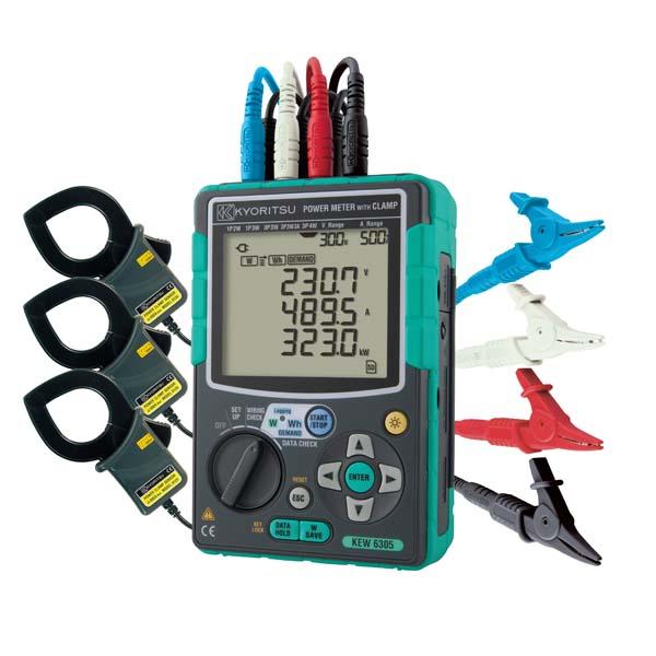 共立電気計器:6305+8125×3 KEW6305-01