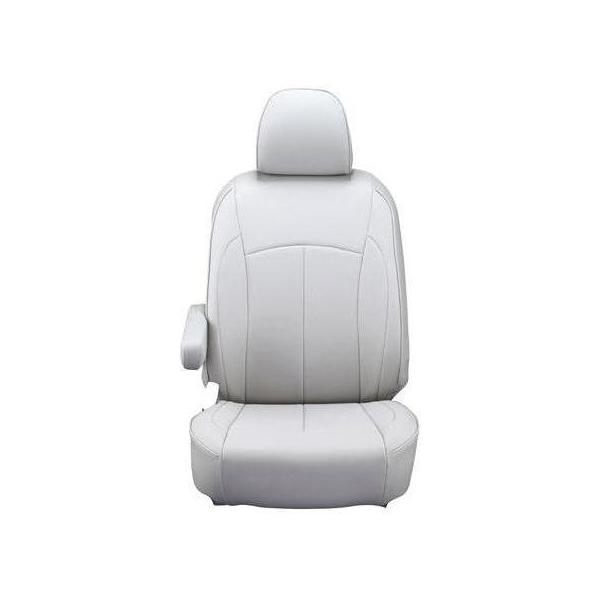 【代引不可】Clazzio(クラッツィオ):シートカバー(ネオ)(ライトグレー) 三菱 eKワゴン/日産 デイズ EM-7503