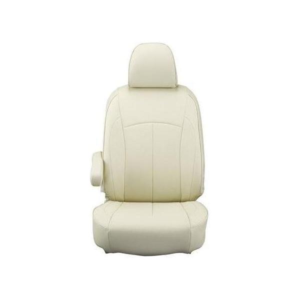 【代引不可】Clazzio(クラッツィオ):シートカバー(ネオ)(アイボリー) 日産 キャラバン ワゴン E26系 5人乗り EN-5290