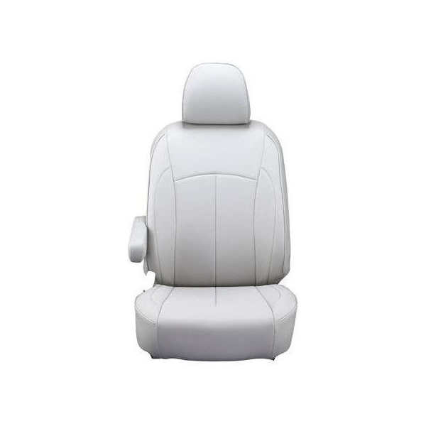 【代引不可】Clazzio(クラッツィオ):シートカバー(ネオ)(ライトグレー) トヨタ ハイエースワゴン H200系 6人乗り ET-0103