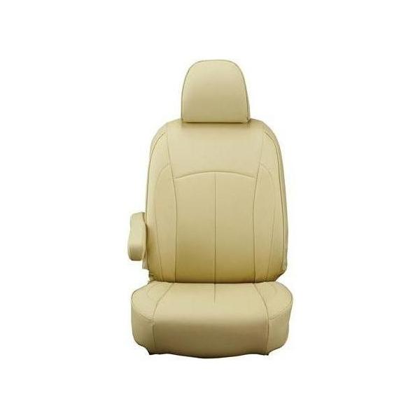 【代引不可】Clazzio(クラッツィオ):シートカバー(ネオ)(タンベージュ) トヨタ ハイエースバン H200系 5人乗り ET-0237