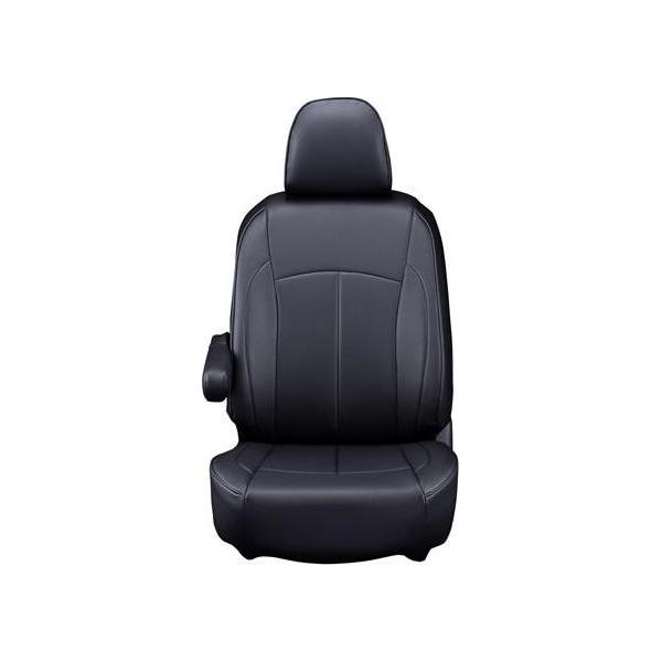 【代引不可】Clazzio(クラッツィオ):シートカバー(ネオ)(ブラック) トヨタ ハイエースワゴン H200系 4人乗り ET-1097