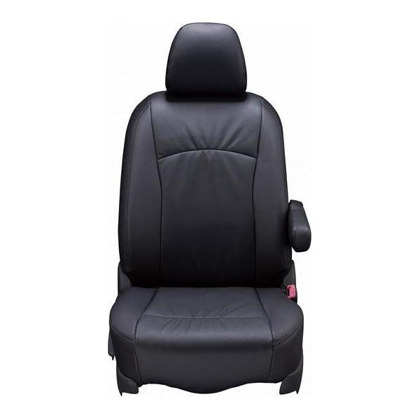 Clazzio(クラッツィオ):シートカバー(Ziel) (ブラック) トヨタ ポルテ / スペイド 4WD NCP145 ET-1110