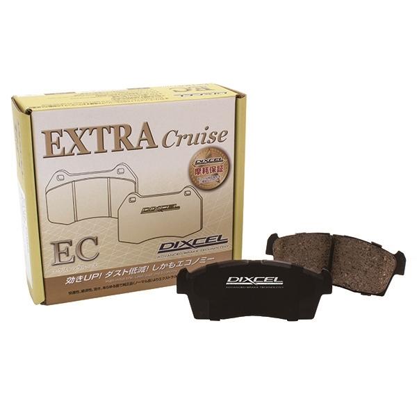 ディクセル:ブレーキパット エクストラクルーズ ECタイプ ALPHARD ANH10W/15W ABS付 EC311446
