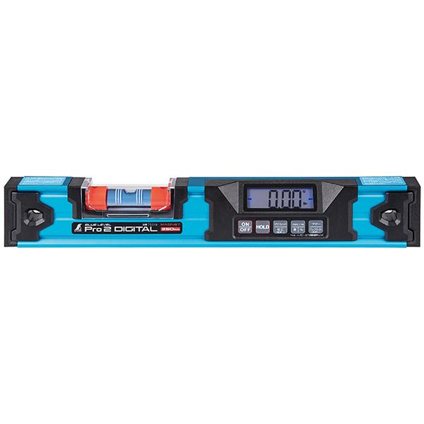 シンワ測定:ブルーレベル Pro2 デジタル 防塵防水 350mm マグネット付 75316