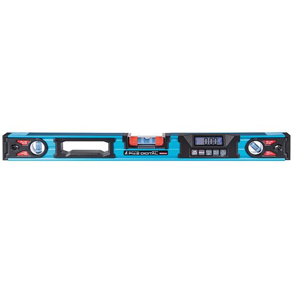 シンワ測定:ブルーレベル Pro2 デジタル 防塵防水 600mm 75315