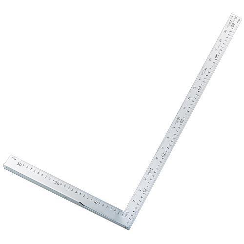 シンワ測定:L型万能定規 60cm 併用目盛 77885