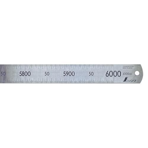 【レビューで送料無料】 シンワ測定:直尺 ステン 6m 14109, モアナ ハワイアンジュエリー 21aa22c9