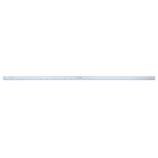シンワ測定:アルミカッター定規 カット師 2.5m 併用目盛 65092