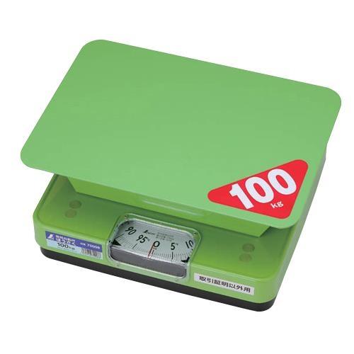 シンワ測定:簡易自動はかり ほうさく 100kg 取引証明以外用 70008