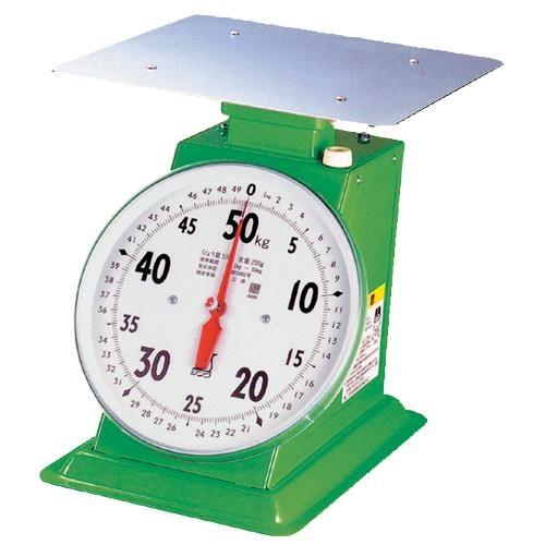 シンワ測定:上皿自動はかり 50kg 取引証明用 70101