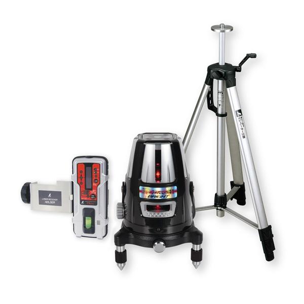 シンワ測定:レーザーロボ Neo 41 BRIGHT 受光器・三脚セット 77609