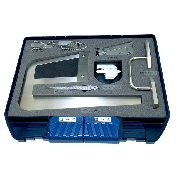 シンワ測定:鉄骨精度測定器具 7点セット 97794