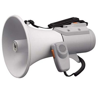 TOA:ショルダーメガホン 15Wホイッスル音付 ER-2115W