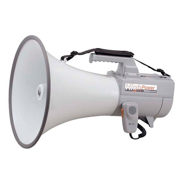TOA:ショルダーメガホン 30Wホイッスル音付 ER-2130W
